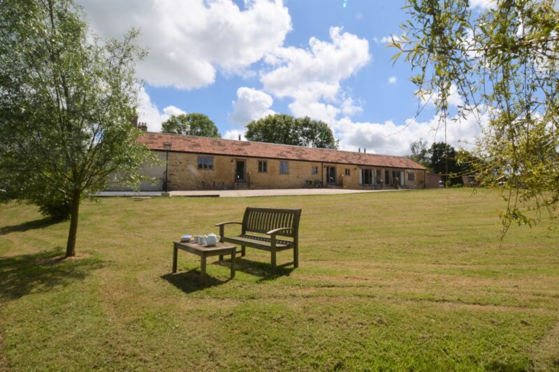 Cosy single storey former dairy set in a beautiful rural setting in rolling countryside