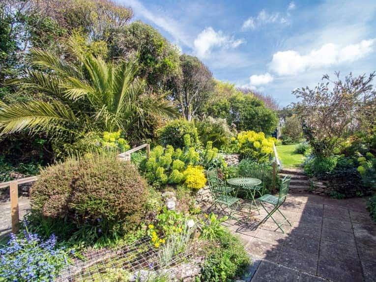 The beautiful garden at Shearwater