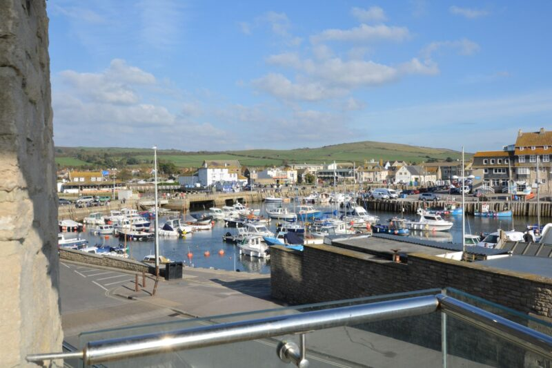 Enjoy views across to the harbour as well from the balcony