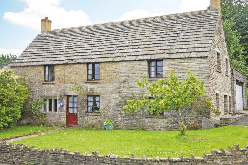 View of Tudor Rose Cottage
